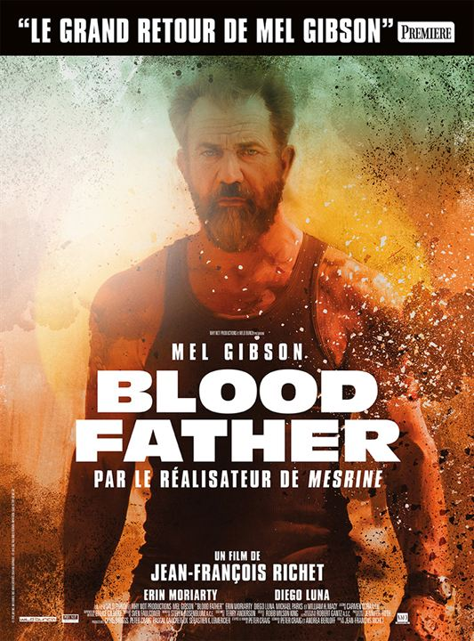Affiche bande annonce Blood father