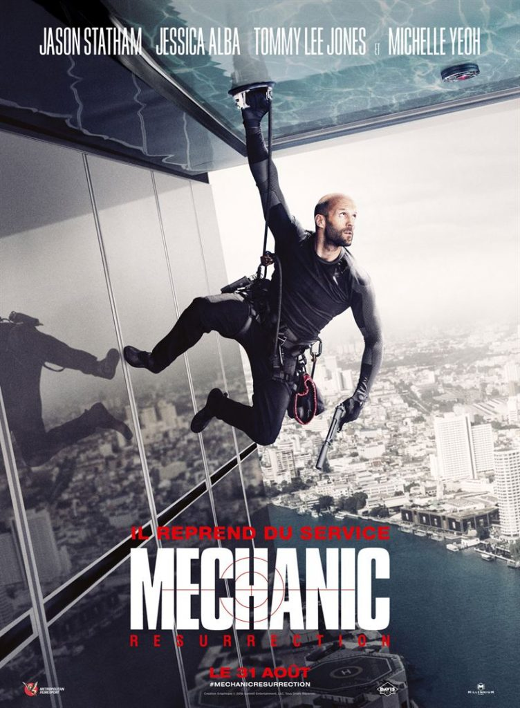 Affiche film mechanic resurrection