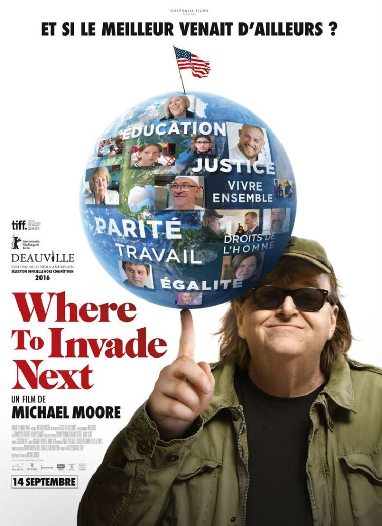 Affiche film where to invade next